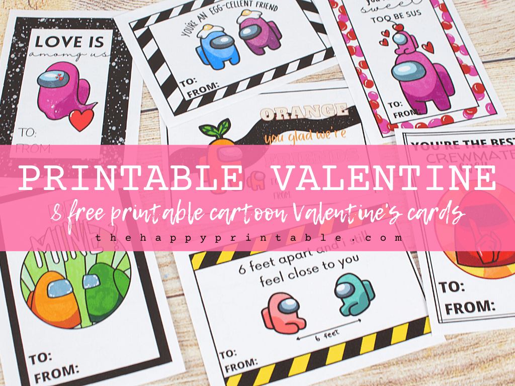 video game Valentine's Day cards